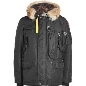 Parajumpers Right Hand Down Jacket with Fur-Trimmed Hood