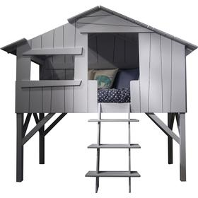 Mathy By Bols Threehouse Single Bed (Mdf+Pine)