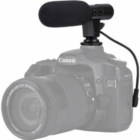 PULUZ 3.5mm Proffs DSLR Intervju mikrofon