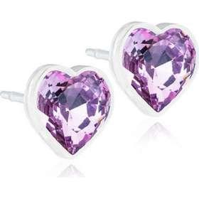 Blomdahl Skin-Friendly Medical Plastic Earrings w. Swarovski Crystals -  0.6cm (15 4df7dd09e46ed