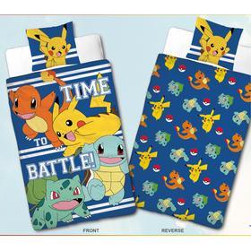 MångasMammaShoppen Pokémon Bäddset Påslakanset Sängkläder 150x210cm