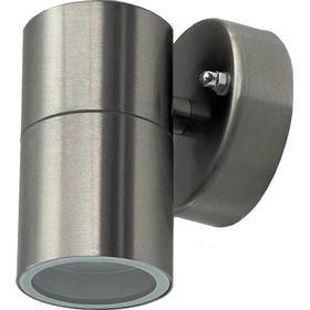 Rustfri udendørs væglampe til GU10 - Lys én retning