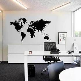 Gemmas Stort verdenskort til væggen