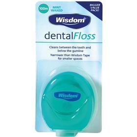 Wisdom Dental Floss Mint 100m