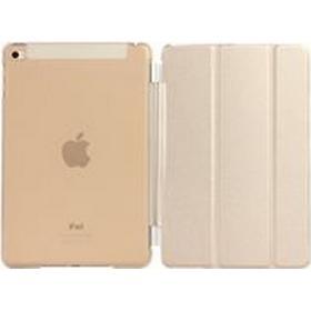 eSTUFF Smart Cover - Skärmskydd för surfplatta - eco-läder - guld - för Apple 9.7-inch iPad Pro; iPad Air 2
