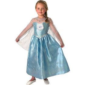 Rubies Frost Elsa Deluxe Klänning Barn