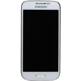 Samsung Galaxy S4 mini i9195 Komplet Frontcover inkl. LCD display Hvid - Originalt