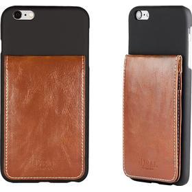 iDeal Smart Case, plastskal för iPhone 6/6S Plus, 3 kortplatser, gummerad yta, s
