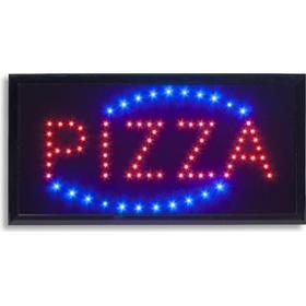 """PIZZA"""" LED lysskilt"""
