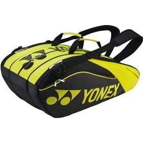 Yonex Pro Racquet Bag - Black/Lime (BAG9629EX)