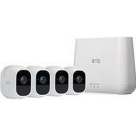 Netgear Arlo Pro 2 VMS4430P Base+4 HDcam Arlo Pro 2 smart security kamerasystem med 4 HD kameror