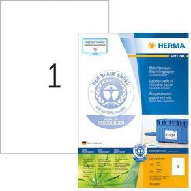 HERMA Etikett HERMA Miljö 210x297mm 100/FP