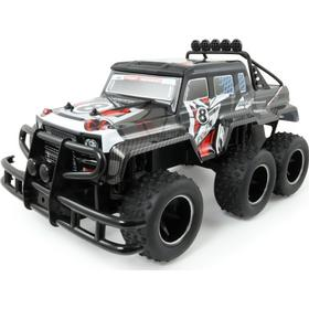 MegaLeg Superior High Speed Truck 2.4G 6x6, Sort/Rød