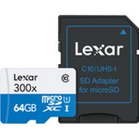 Lexar MicroSDHC UHS-I 300X, 45MB/s 64GB