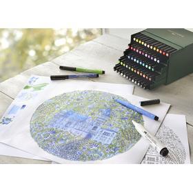 PITT Artist Pen Brush 60-set Ateljé Faber-Castell