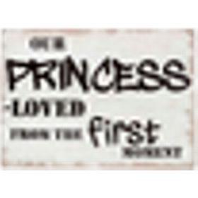 Kids Concept Tavla Princess Beige/Vit