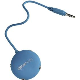 Boompods Audio Splitter Blå