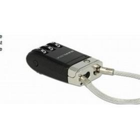 Navilock USB Lock, Combination lock, Svart, Kombinationskod/nyckelkodsregistrering, Taiwan