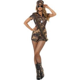 Star Trading Militærpige Kostume