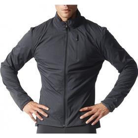 adidas ClimaHeat Mens Running Jacket - Black