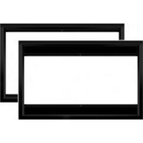 WS Spalluto WS-GR-Multiformat ramspänd filmduk, 16:9 266 x 149cm vertikal dropline