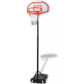 vidaXL transportabel basketballkurv 210 cm