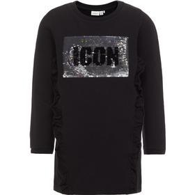 Name It Reversible Sequin Long Sweatshirt - Black/Black (13153601)