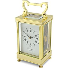 David Peterson Captains Clock 8 Day Mechanical Carriage Clock. Dp/Cc