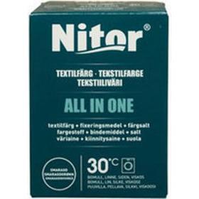 Nitor Textilfärg All In One, 230 g, smaragdgrön
