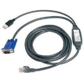 Avocent RJ45 - VGA/USB 3.1m