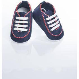 Mjuka lära-gå-skor, Marinblå