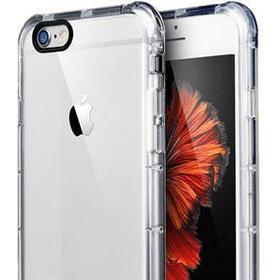 Crystal Shockproof silikone cover til iPhone 6 / iPhone 6S - Transparent