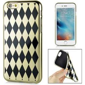 Laborant technology silikone cover iPhone 6 / 6S - (Diamond pattern)