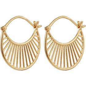 Pernille Corydon Daylight Gold Plated Silver Earrings - 2.2cm