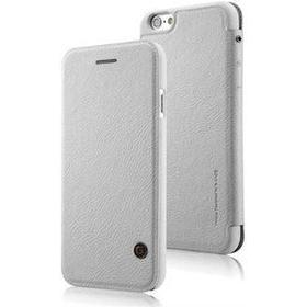 G-Case Unique leather case iPhone 6 / 6S - hvid