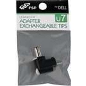 FSP Ultrabook Adapter Exchangeable Tips U7 - Adapter för effektkontakt - Växelströmsjack 4,5 x 0,6 mm (hane) till 2-polig (hane)