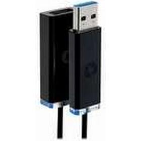 Corning USB 3.Optical - USB-förlängningskabel - USB typ A (hona) till USB typ A (hane) - USB 3.0 - 15 m - svart