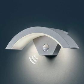 Titanfarvet LED-udendørslampe Ohio m sensor