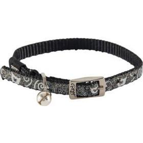 Rogz Glitter Katt-& Kattungehalsband Catz SparkleCat Collar XSmall Black 17-23cm Svart