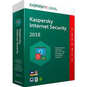 Kaspersky Internet Security 2018 - 1 år - 1 enhet