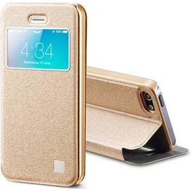 MOBILCOVERS.DK iPhone 5/5s TakeFans Asterism Series View Etui Guld