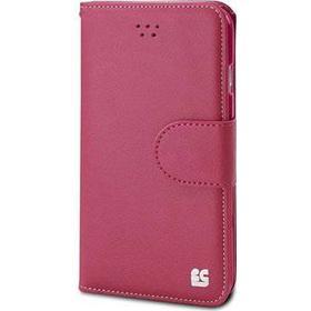 Beyond Cell iPhone 6 Plus Beyond Cell Infolio B Pung Læder Taske - Hot Pink