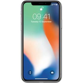 Apple iPhone X 256 GB Silver EU Fri tale + 40 GB