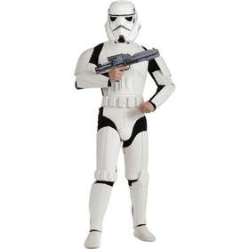 utklädnad star wars. Rubies Deluxe Adult Stormtrooper Costume 878881b47830c