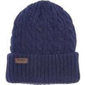 Barbour Balfron Knit Beanie, Navy, One Size