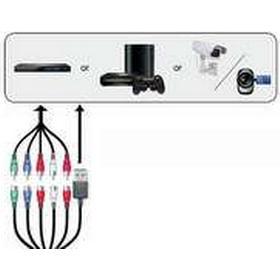 AVerMedia ET113, 1080i,1080p,480i,480p,576i,576p,720p, Komponent, HDMI Type A, Svart, 0 - 40 ° C, 399 mm