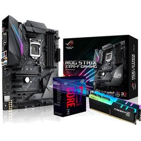 ASUS Uppgraderingspaket med Intel Coffee Lake Intel Z370 Core i7 I7-8700K 16GB ATX