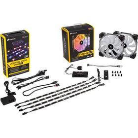 Corsair Lighting Node PRO + 2x HD140 RGB 140 mm (5011055813)