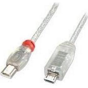 Lindy Premium USB Mini-A-USB Micro-B 2.0 0.5m