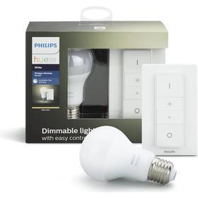 Philips Hue White lysdæmper kit (Pære og afbryder) - 9.5W, A60, E27